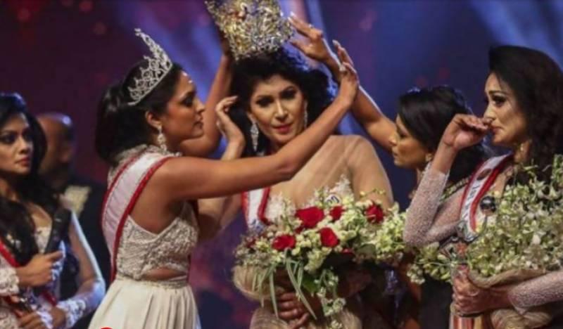 سری لنکا پولیس نے سابق ملکہ حسن کو گرفتار کرلیا
