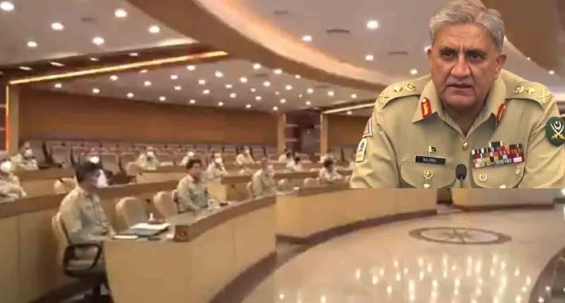 کور کمانڈر کانفرنس، عسکری قیادت کا کشمیریوں کیساتھ مکمل یکجہتی کا اظہار
