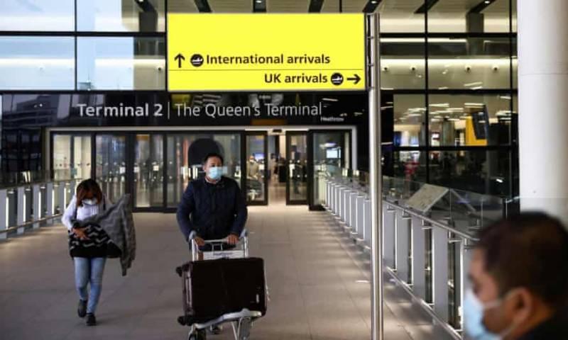 برطانوی شہریت نہ رکھنے والے پاکستانیوں پر آج سے انگلینڈ داخلے پر پابندی