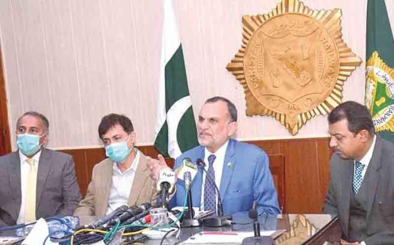 این اے 249 کی انتخابی مہم میں حصہ لینے پر اعظم سواتی کو شوکاز نوٹس جاری