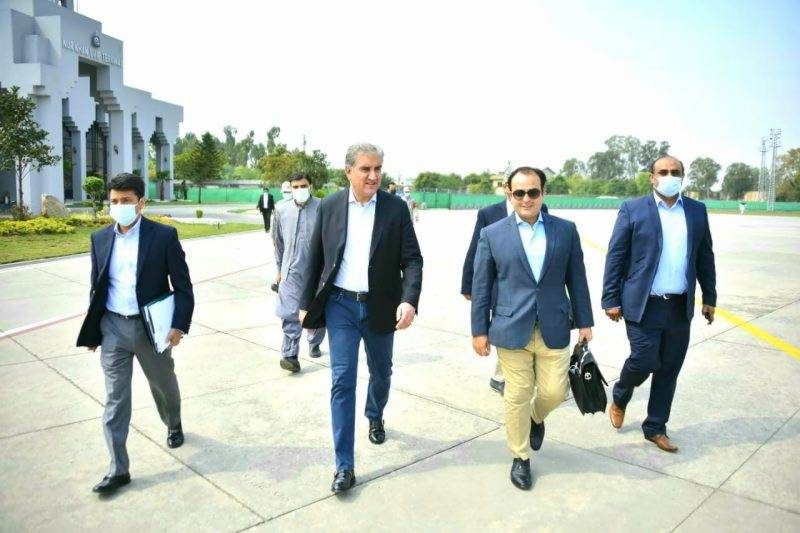 وزیر خارجہ شاہ محمود قریشی 2 روزہ دورے پر جرمنی روانہ