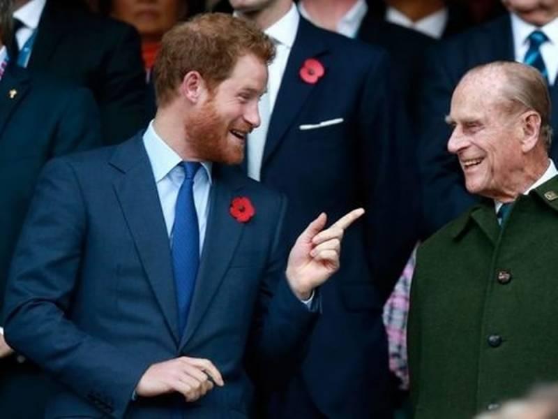 دادا کی آخری رسومات میں شرکت کیلئے شہزادہ ہیری برطانیہ پہنچ گئے