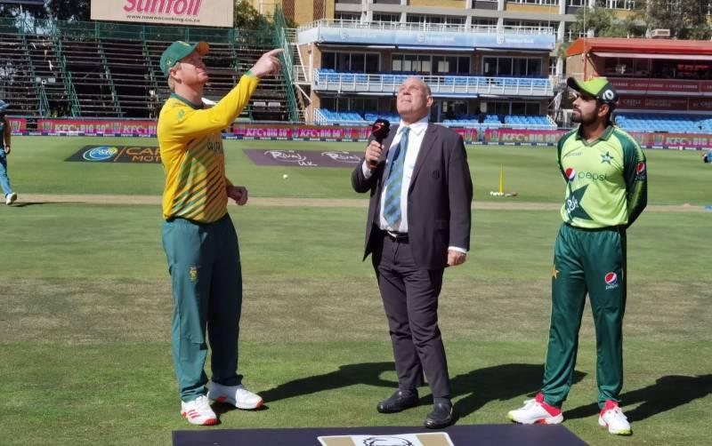 دوسرا ٹی 20، پاکستان کا جنوبی افریقہ کیخلاف ٹاس جیت کر بیٹنگ کا فیصلہ