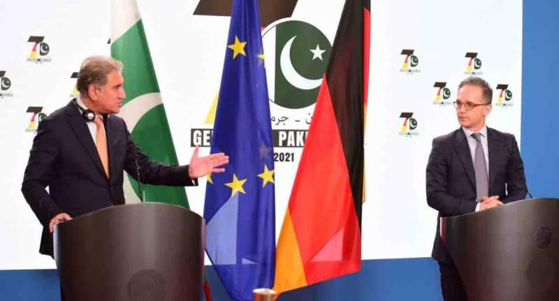 خطے میں امن کیلئے جرمنی کا پاکستان کی قربانیوں کا اعتراف