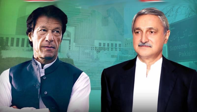 Jahngir Tareen and Imran Khan