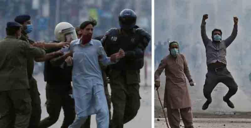 وزارت داخلہ نے مظاہرین کی گرفتاریوں سے متعلق رپورٹ جاری کر دی