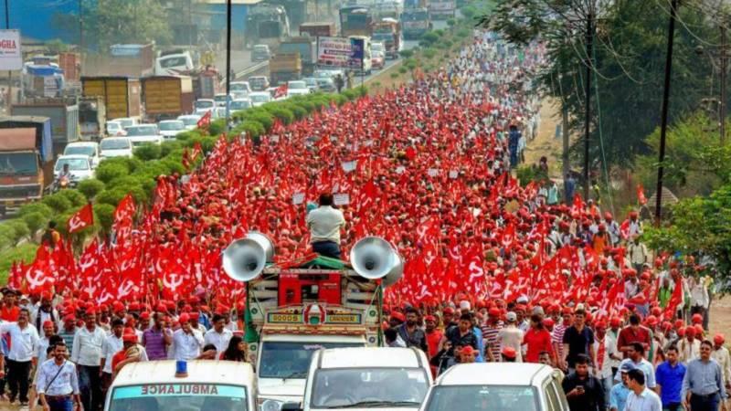 بھارتی کسانوں نے 21 اپریل کو دہلی کی طرف مارچ کا اعلان کر دیا گیا