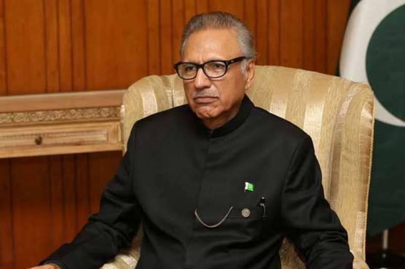 تحریک لبیک پر پابندی کا فیصلہ وزیراعظم اور کابینہ کا ہے، صدر مملکت