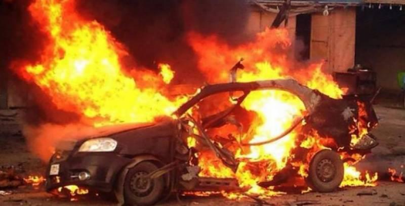 بغداد کار بم دھماکے سے لرز اٹھا