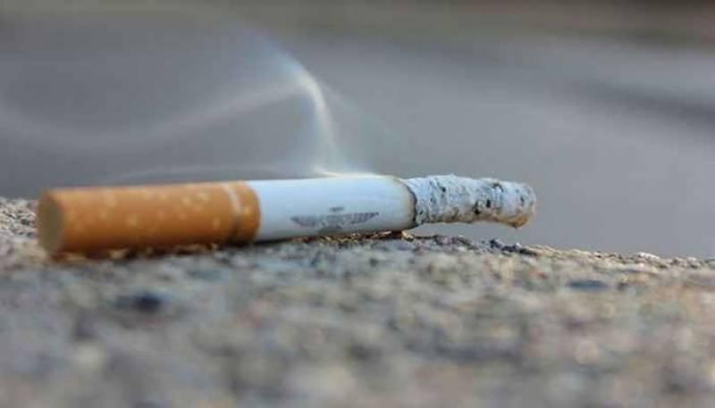 Cigrate Noshi-Smoking