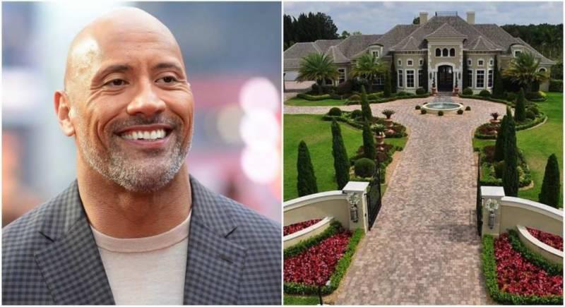 """""""دی راک"""" نے 4 ارب 14 کروڑ روپے کا خوبصورت گھر خرید لیا"""