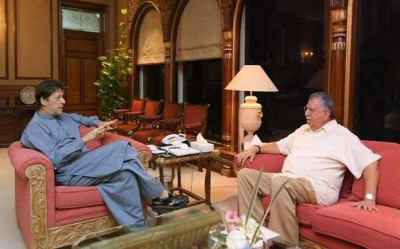 وزیراعظم عمران خان سے شوکت ترین کی ملاقات، معاشی صورتحال پر گفتگو