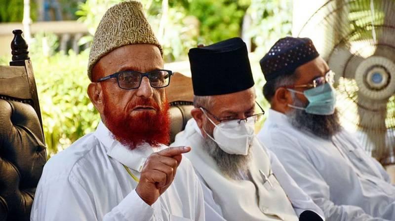 مفتی منیب الرحمن کی آج ہڑتال کی اپیل، مولانا فضل الرحمن کی حمایت