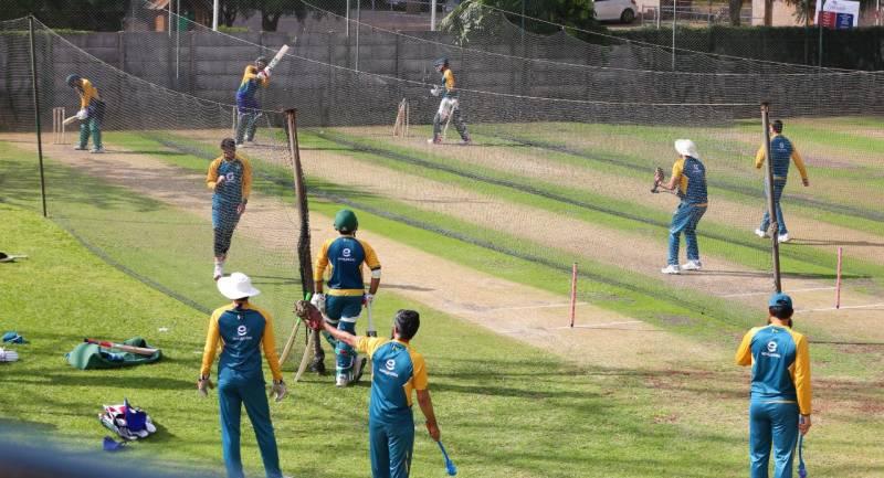 پاکستان اور زمبابوے کے درمیان پہلا ٹی ٹوئنٹی کل کھیلا جائے گا