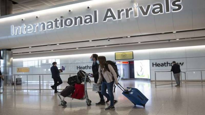 بھارتی شہریوں کے برطانیہ داخلے پر پابندی عا ئد