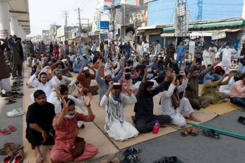 اہم پیش رفت:ٹی ایل پی کا چوک یتیم خانہ لاہور پر جاری دھرنا ختم کرنے کا اعلان