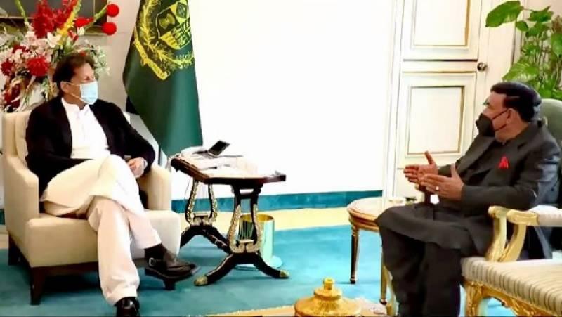 وزیراعظم سے وزیر داخلہ کی ملاقات،تحریک لبیک سے مذاکرات بارے بریف کیا