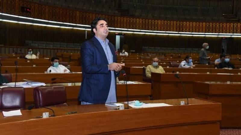 پی پی اسمبلی اجلاس میں شریک نہیں ہوگی،خرابی وزیراعظم نے پیدا کی وہ ہی ٹھیک کریں:بلاول