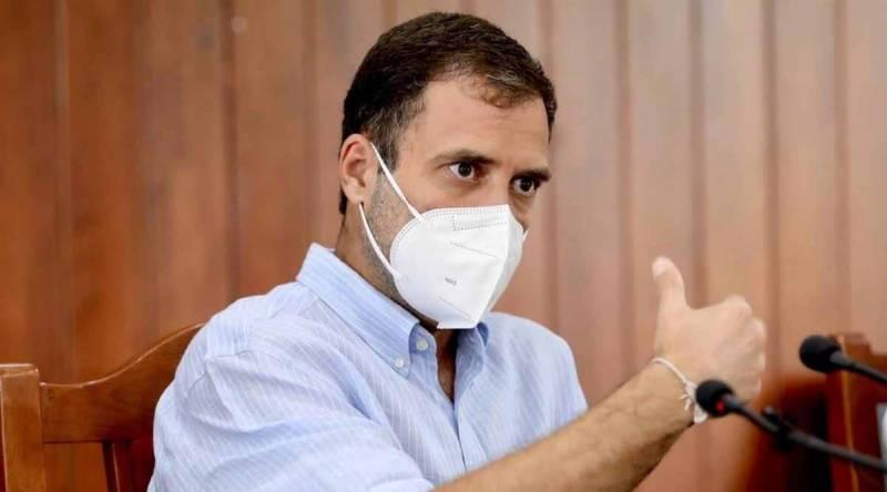 کانگریس رہنما راہول گاندھی کورونا میں مبتلا ہو گئے