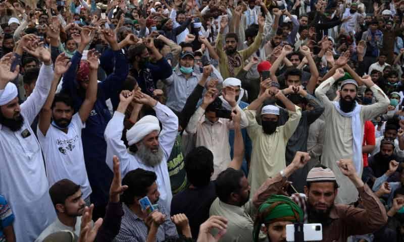 کالعدم ٹی ایل پی کا مرکزی دھرنے سمیت ملک بھر میں احتجاج ختم کرنے کا اعلان