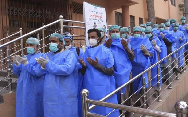 پاکستان میں کورونا سے مزید 148 افراد انتقال کرگئے