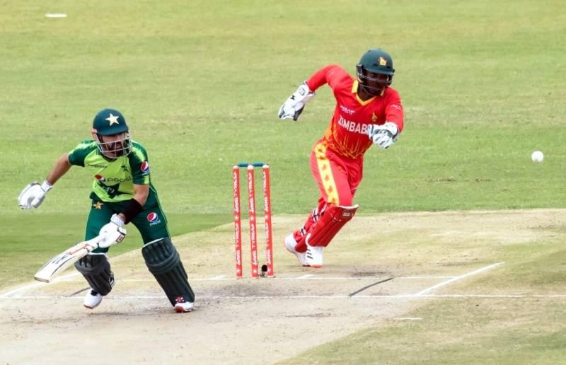 پہلا ٹی 20، پاکستان نے زمبابوے کو جیت کیلئے 150 رنز کا ہدف دیدیا