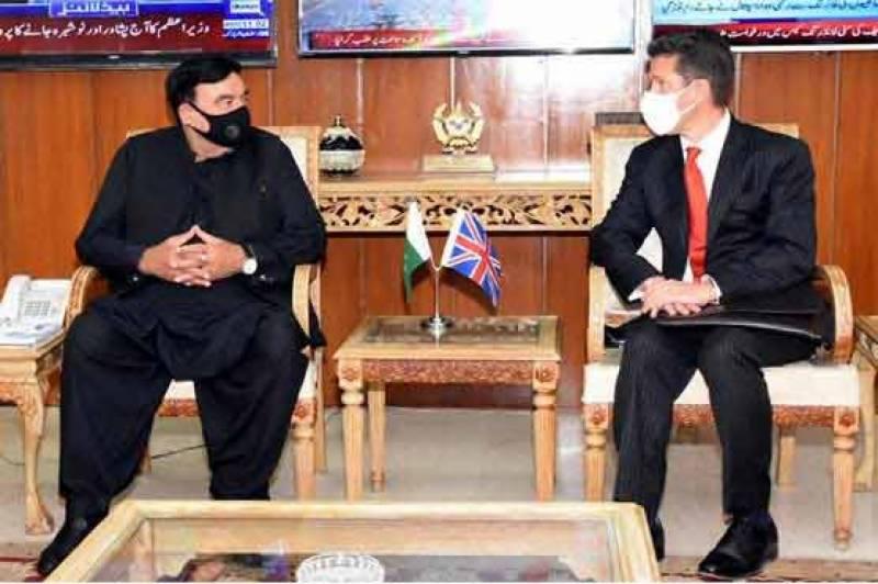 وزیر داخلہ سے برطانوی سفیر کی ملاقات، نواز شریف کی ممکنہ واپسی پر تبادلہ خیال