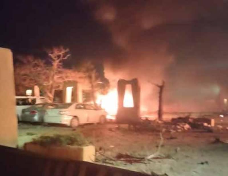 کوئٹہ، سرینا چوک پرہوٹل کی پارکنگ میں دھماکا، 4 افراد جاں بحق