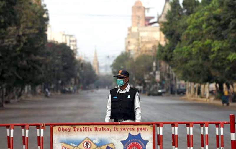 کراچی کے تین علاقوں میں سمارٹ لاک ڈاؤن نافذ، نوٹیفکیشن جاری