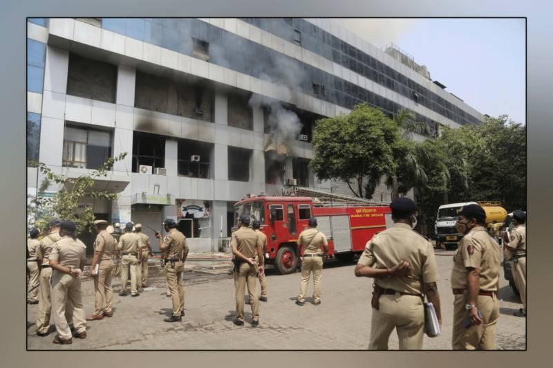 انڈیا میں اندوہناک سانحہ، ہسپتال میں آتشزدگی سے کورونا کے 13 مریض جھلس کر ہلاک