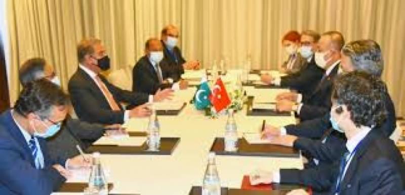 وزیر خارجہ شاہ محمود قریشی دو روزہ دورے پر ترکی پہنچ گئے