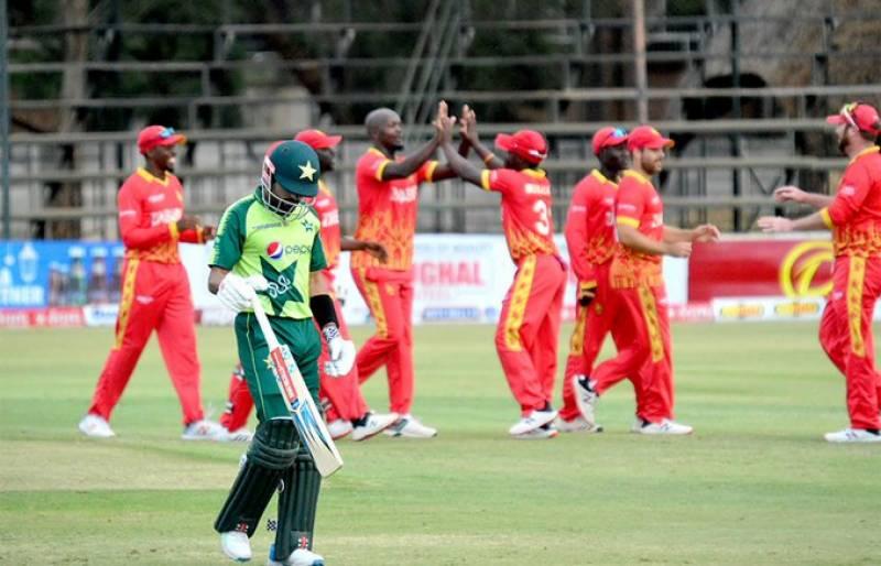 دوسرا ٹی 20: زمبابوے نے پاکستان کو شکست دے کر سیریز 1-1 سے برابر کر دی