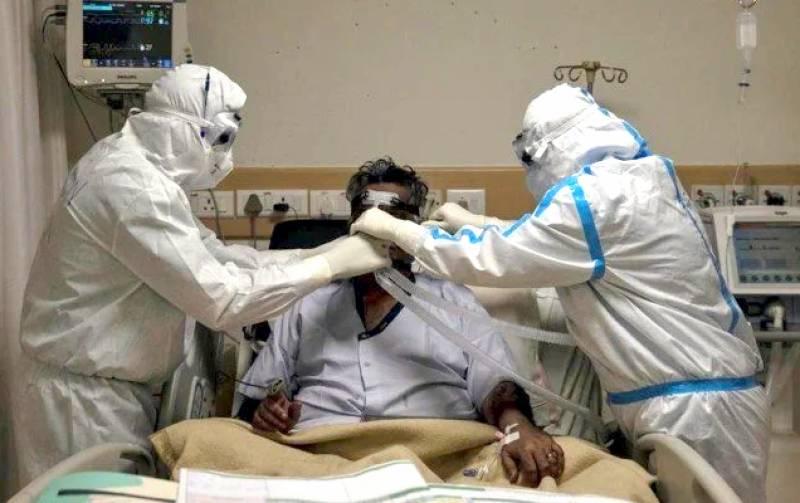 پمز ہسپتال کے کورونا وارڈز میں مریضوں کی گنجائش ختم ہو گئی