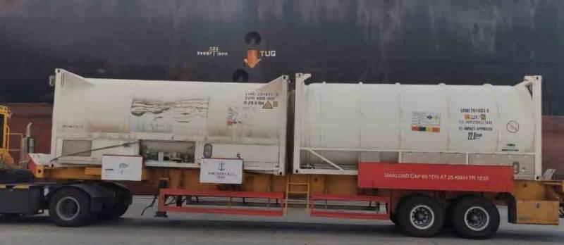 سعودی عرب کی بھارت کو 80 میٹرک ٹن مائع آکسیجن کی امداد