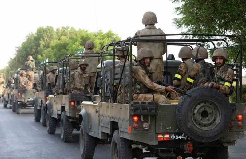 کورونا ایس اوپیز پر عملدرآمد کیلئے فوج کی خدمات حاصل کرنے کا نوٹیفکیشن جاری