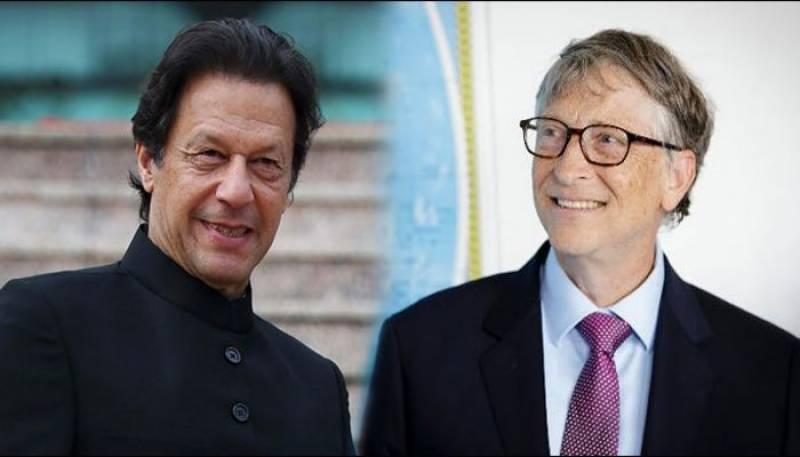 عمران خان اور بل گیٹس کے درمیان ٹیلیفونک رابطہ، پولیو کی صورتحال پر تبادلہ خیال