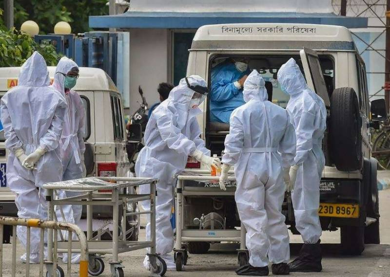 کورونا وائرس کی تیسری لہر ، بھارت میں ایک روز میں ریکارڈاموات