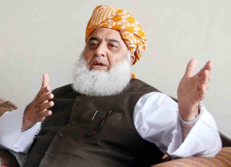 مولانا فضل الرحمان نے پیپلز پارٹی اور اے این پی کے استعفے منظور کر لیے