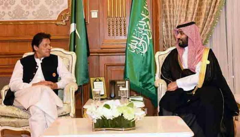 وزیراعظم کا سعودی عرب کی ایران کیساتھ تعلقات بحالی کی خواہش کا خیر مقدم