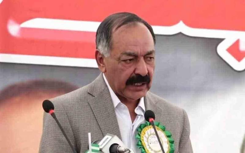 گورنر بلوچستان کو تبدیل کیے جانے کا امکان