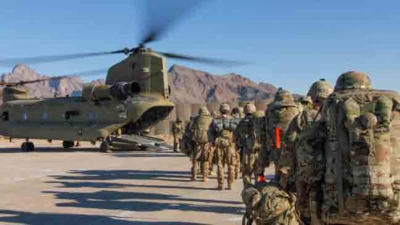 افغانستان سے امریکی فوج کا انخلاء شروع ہو گیا