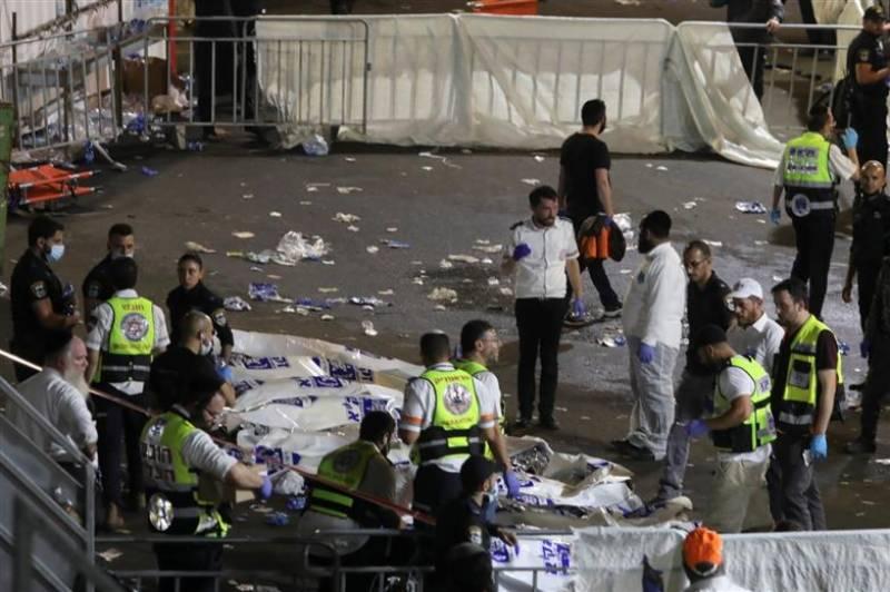اسرائیل میں مذہبی اجتماع میں بھگدڑ مچ گئی،44 افراد ہلاک