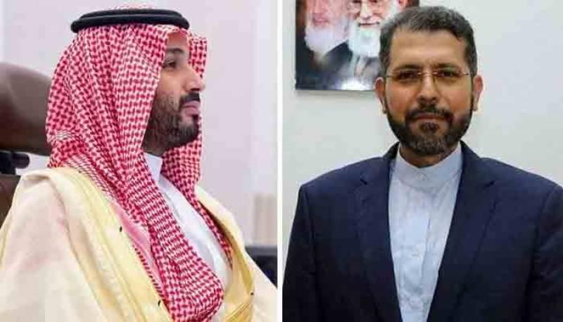 ایران کا سعودی ولی عہد کے بیان کا خیر مقدم