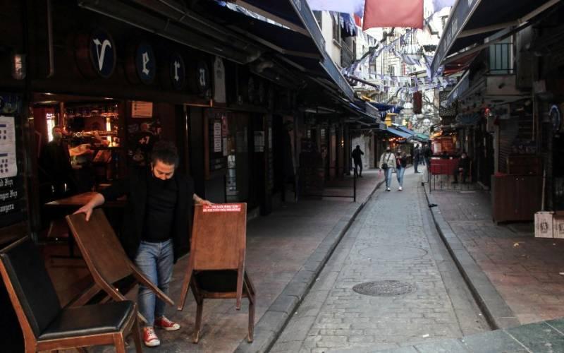 کورونا وائرس کا پھیلاؤ، ترکی میں پہلی مرتبہ مکمل لاک ڈاؤن نافذ ہو گیا