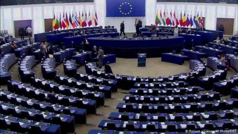 یورپی پارلیمنٹ میں پاکستان کیخلاف قرارداد بھاری اکثریت سے منظور