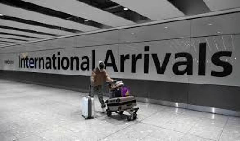 بیرون ملک سے آنے والی پروازیں 80 فیصد کم