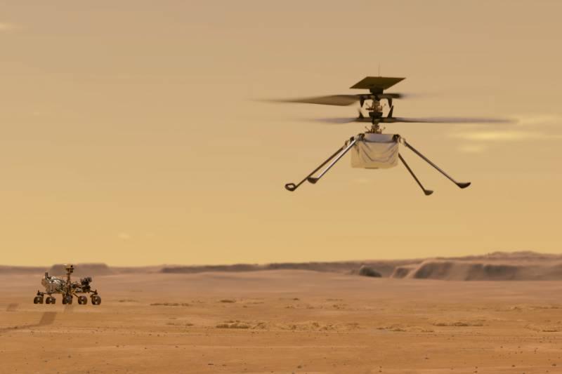 ناسا نے مریخ پر بھیجے گئے ہیلی کاپٹر کے مشن میں توسیع کا اعلان کر دیا