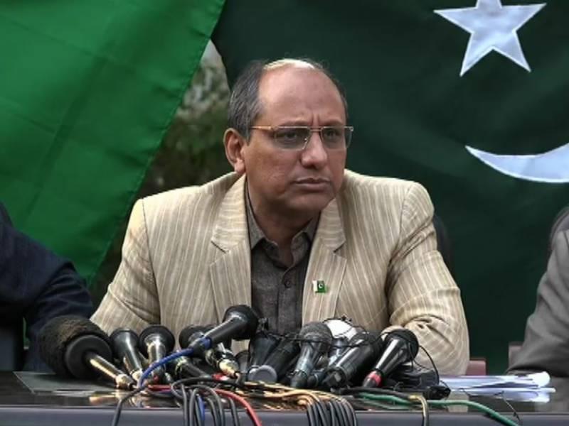 دھاندلی نہیں ہوئی،ری پولنگ میں مفتاح اسماعیل بری طرح ہاریں گے:سعید غنی