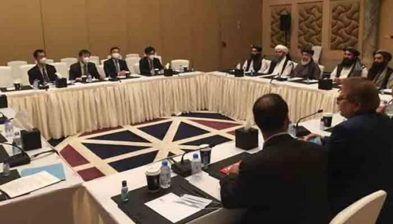 افغانستان کے معاملے کا کوئی فوجی حل نہیں، پاکستان امریکا، روس اور چین کا مشترکہ بیان