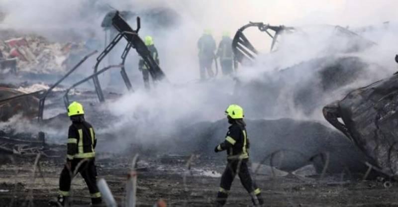 افغانستان میں تیل کے ٹینکرز میں آتشزدگی ،7 افراد ہلاک ہوگئے